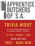 Apprentice Butchers Trivia Night