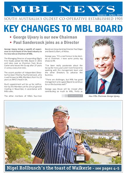 MBL News March April 2019