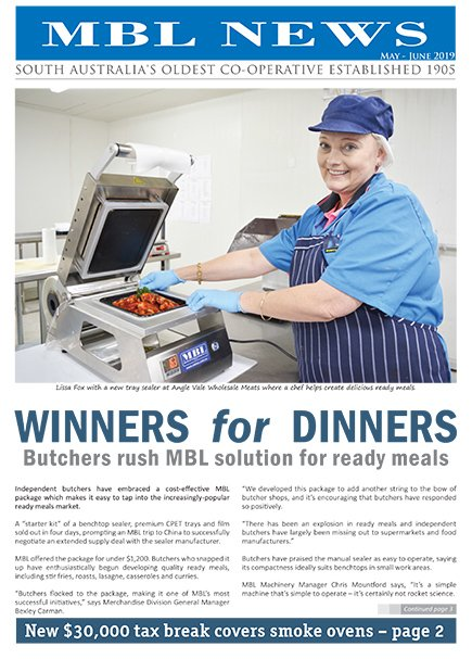 MBL News May June 2019