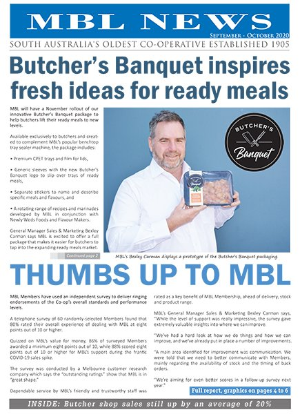 MBL News September - October 2020
