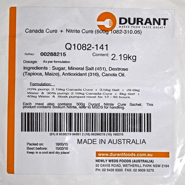 CURE CANADA DURANT 269KG