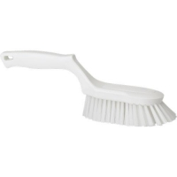 BRUSH HAND HARD WITH  HANDLE 4169 WHT - Click for more info