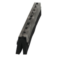 RUBBER REPLACEMENT 500mm BLK 7773 CLIP - Click for more info