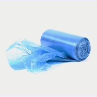 LINER BIN LDPE GARBAGE 240L BLUE(100)DNS - Click for more info