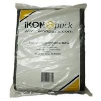 BAG GARBAGE HDPE 77LTR BLACK (200/CTN) - Click for more info