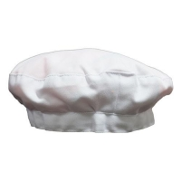 BERET WHITE DRILL - Click for more info
