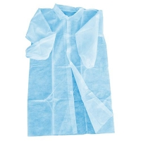 COAT DISP BLUE - WITH VELCRO (100) - Click for more info