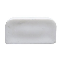 POUCH BASE PLASTIC WHITE (SUIT DMD) - Click for more info