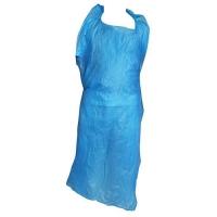 APRON HDPE DISP BLUE 1550X40UM (500) - Click for more info
