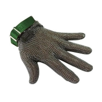 GLOVE MESH 5FINGER X/SML GREEN BAND - Click for more info