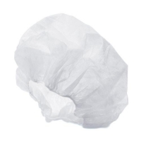 CAP DISP CRIMPED BOUFFANT WHITE (1000) - Click for more info
