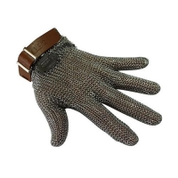 GLOVE MESH 5FINGER XX/SML BROWN BAND - Click for more info