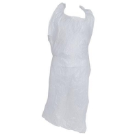 APRON HDPE DISP WHITE (100) - Click for more info