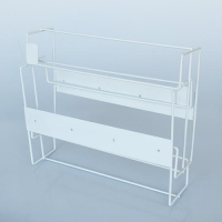 DISPENSER - GLOVE TRIPLE BOX RACK - Click for more info