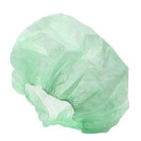 CAP DISP CRIMPED BOUFFANT GREEN (1000) - Click for more info