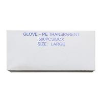 GLOVE - PE TRANSPARENT MEDIUM (500) - Click for more info