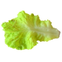 LEAF - ARTIFICIAL GREEN LETTUCE - Click for more info