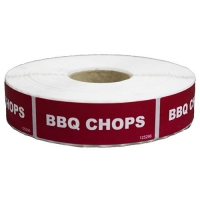 LABEL - BBQ CHOPS (1000) (DNS) - Click for more info