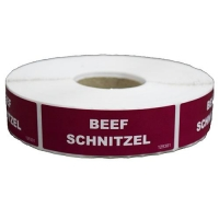 LABEL - BEEF SCHNITZEL (1000) (DNS) - Click for more info