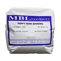POPPY SEED   (BAKERS) - Click for more info