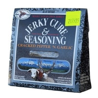 JERKY KIT CRACKED PEPPER & GARLIC - Click for more info