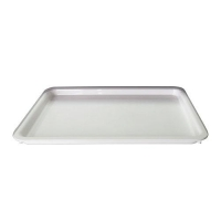 TRAY 17 X 11 X 1inch WHITE RND - Click for more info