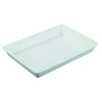 TRAY WHITE NALLY IH009 SOLID PP (DNS) - Click for more info