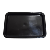 TRAY 12 X 8 X 1 BLACK - Click for more info