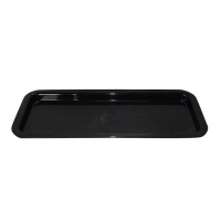 TRAY 16 X 6 X 1 BLACK - Click for more info