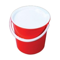 BUCKET & HANDLE 13L N151 (3GAL) WHITE - Click for more info