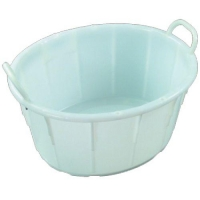 TUB OVAL MEAT WHITE 54L IH091 - Click for more info