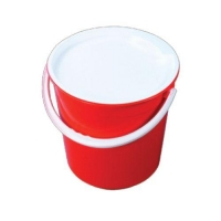 BUCKET & HANDLE 13L N151 (3GAL) RED - Click for more info