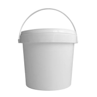 PAIL PLASTIC WHITE 20LTR - Click for more info