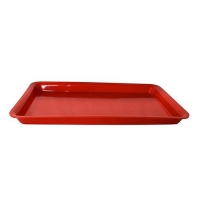 TRAY 17 X 11 X 1 RED RND (min order 30) - Click for more info