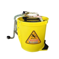 BUCKET MOP W/ROLLERS (OATES BRAND) - Click for more info