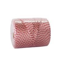 TWINE POLY RED & WHITE 560mt - Click for more info