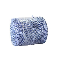 TWINE POLY BLUE & WHITE 560mt - Click for more info