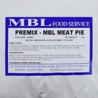 PREMIX MBL MEAT PIE 25KG - Click for more info
