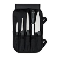 KNIFE ROLL 8296 5L BLACK (5 PCE EMPTY) - Click for more info