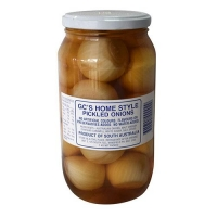 GC'S PICKLED ONIONS PLAIN 1KG - Click for more info