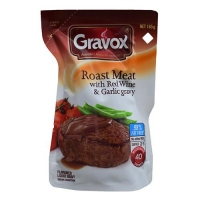 GRAVY - GRAVOX ROAST & RED WINE(8X165g) - Click for more info