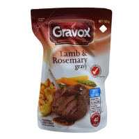 GRAVY - GRAVOX LAMB & ROSEMARY (8x165g) - Click for more info