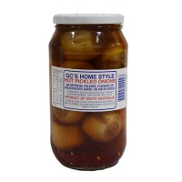 GC'S PICKLED ONIONS HOT 1KG - Click for more info