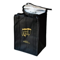 COOLER BAGS BLACK EACH (40/ctn) - Click for more info