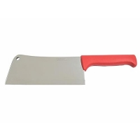 CLEAVER S/S RED P/H 25cm (DNS) - Click for more info
