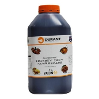 MARINADE DURANT HONEY SOY G/FREE 4LTR - Click for more info