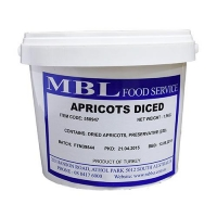 APRICOTS DICED 1.5 KG - Click for more info