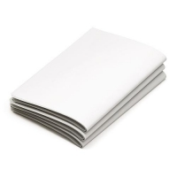 WHITE NEWS GLOSSY 500mmx750mm - Click for more info