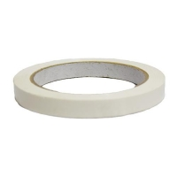 TAPE WHITE 12mm X 66MT PVC C20 - Click for more info