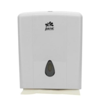 DISPENSER PLASTIC ULTRASLIM WHITE - Click for more info